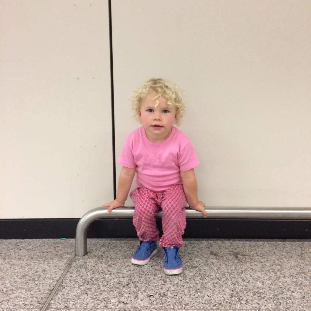 at the airport